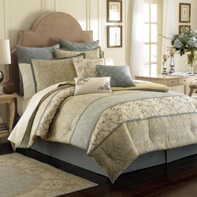 Laura Ashley Berkley Bedding Set - REVM283 - Contemporary - Bedding ...
