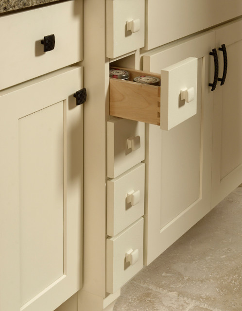 Spice Drawers Base Cabinet | CliqStudios.com - Contemporary - minneapolis - by CliqStudios Cabinets