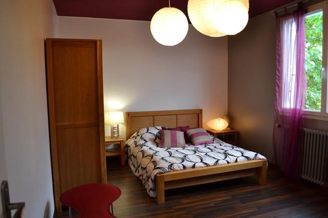Am nagement d 39 une chambre en maison de bourg contemporain chambre other metro par edescom - Amenagement d une chambre ...