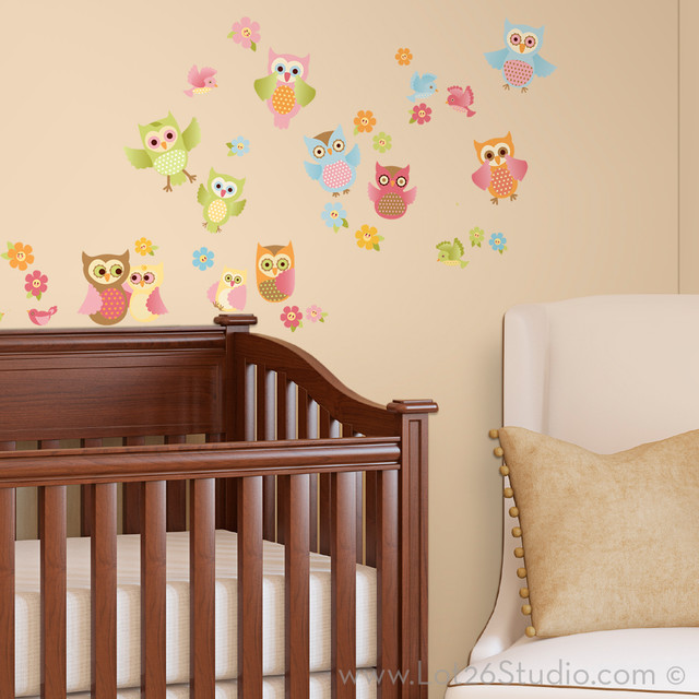 Image Gallery Owl Wall Stickers