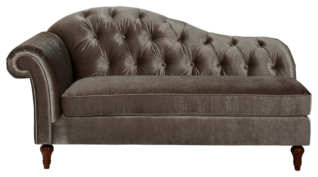 camille chaise lounge traditional chaise longue by jennifer taylor home. Black Bedroom Furniture Sets. Home Design Ideas