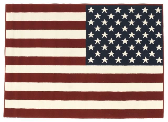american flag tapis 60x110cm contemporain tapis de. Black Bedroom Furniture Sets. Home Design Ideas
