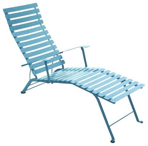 Fermob bistro folding chaise lounge modern outdoor chaise lounges by - Chaise luxembourg fermob ...