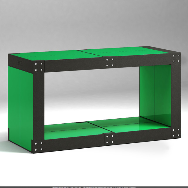 Table basse contemporary coffee tables other metro - Cube table basse ...