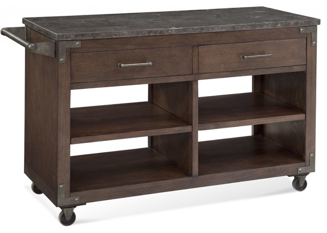 Charleen Serving Island Industrial Kitchen Islands And Kitchen Carts By Autumn Elle Design