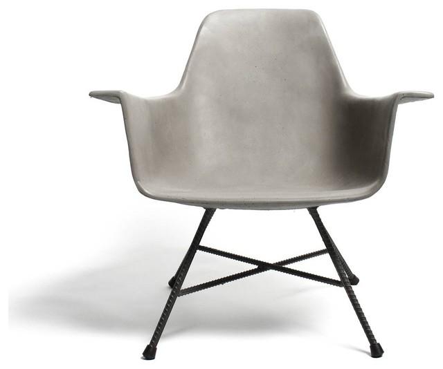 fauteuil bas design b ton hauteville couleur gris b ton scandinave fauteuil par. Black Bedroom Furniture Sets. Home Design Ideas