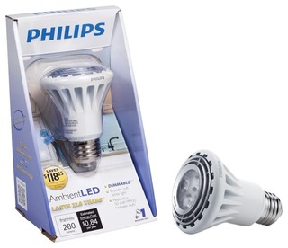 Philips AmbientLED (TM) Dimmable 50W Replacement PAR20 Indoor Flood ...