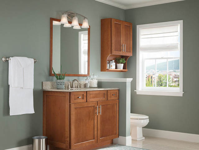 Half Wall Divider Between Toilet And Sink