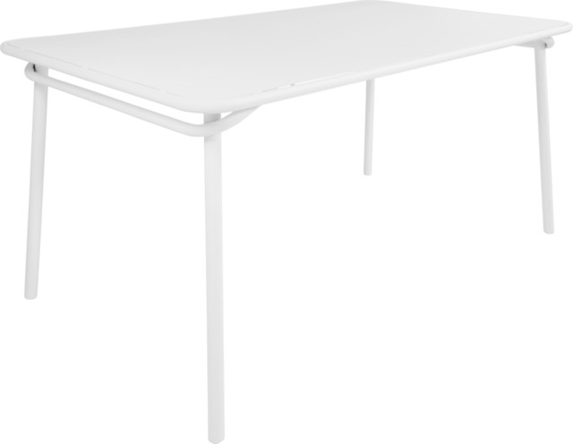 Heva table de jardin contemporain table de jardin par habitat officiel - Table de jardin contemporaine ...