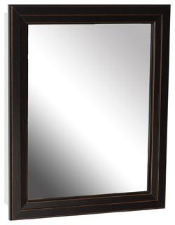 Zenith Bronze Framed Medicine Cabinet - Medicine Cabinets - by JENSEN-BYRD CO INC