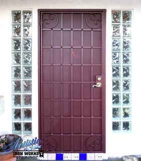 Wrought Iron Security Door Contemporary Front Doors