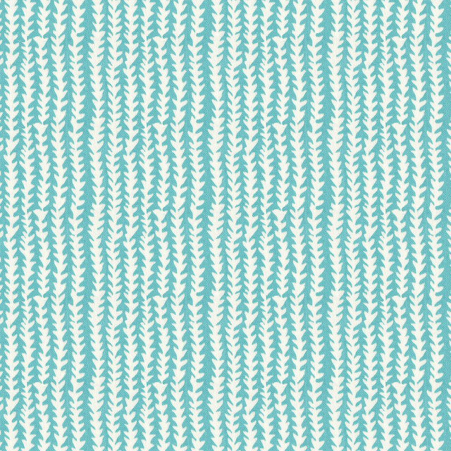 One Vine Day In Aqua Outdoor Fabric New York By Loom Decor