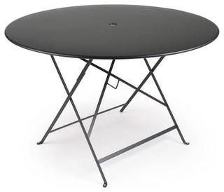 bistro klapptisch 117cm bauhaus look outdoor bartische bistrotische von. Black Bedroom Furniture Sets. Home Design Ideas
