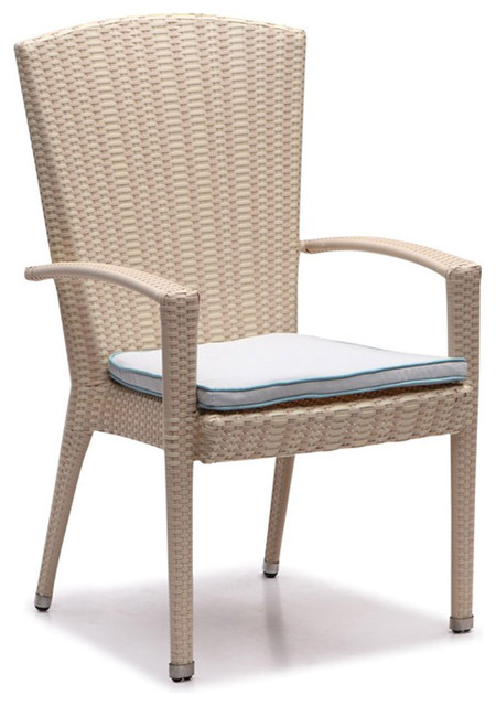 Breeze High Back Dining chair Dark Olive green Cushion  : contemporary outdoor dining chairs from www.houzz.com size 450 x 640 jpeg 60kB