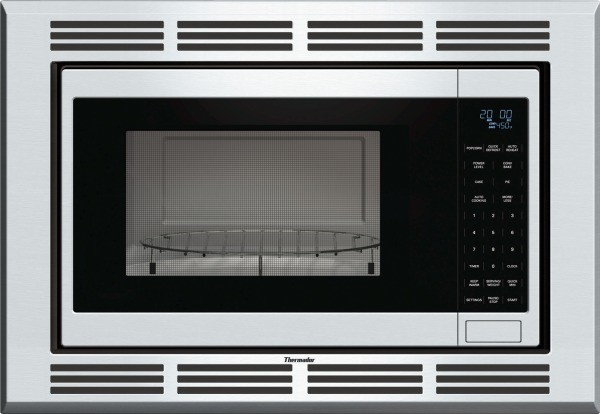 Thermador built in convection microwave mces trim kit for Microwave ovens built in with trim kit