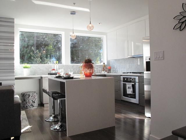 2748 Contemporary Kitchen Vancouver By Fl Ff Designs Decor