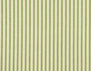 """15"""" King Bedskirt Tailored Apple Green Ticking Stripe - Traditional - Bedskirts"""