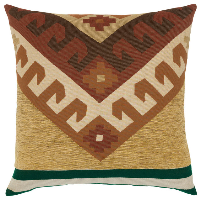 Canyon Peak Forest Pillow By Elaine Smith Southwestern Outdoor Cushions And Pillows