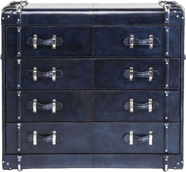 kommode nautica blue 4 schubk sten industrial chests of drawers by kare design gmbh. Black Bedroom Furniture Sets. Home Design Ideas