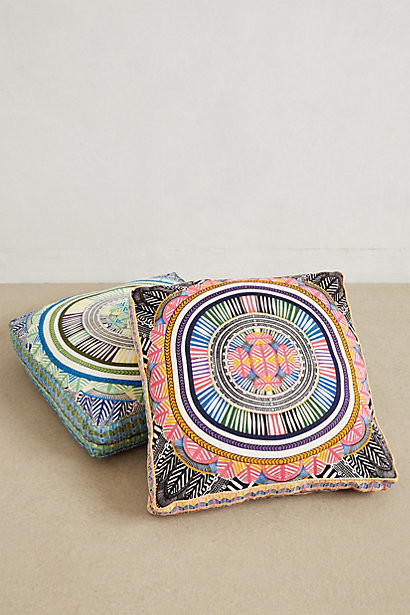 Floor Cushions Anthropologie : Mara Hoffman Floor Pillow - Eclectic - Floor Pillows And Poufs - by Anthropologie