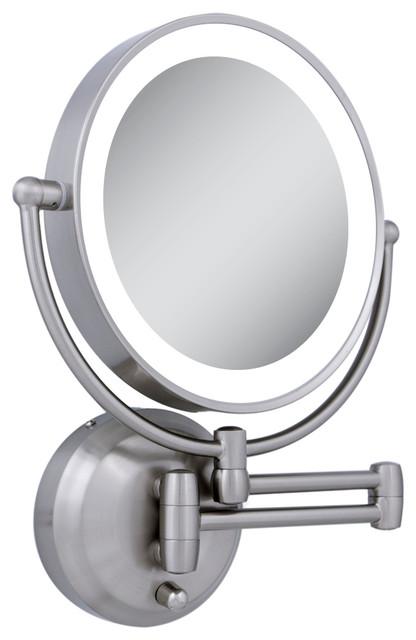 Innovative Illuminated Bathroom Mirrors Battery Operated Lighted Bathroom Mirror