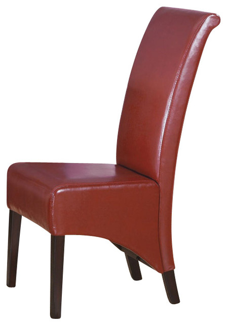 40 in high back parson chair set of 2 contemporary for High back parsons chair