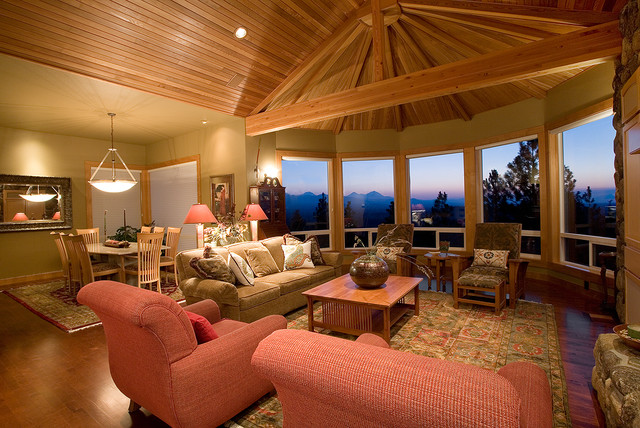 awbrey butte remodel traditional living room western ranch traditional living room portland by