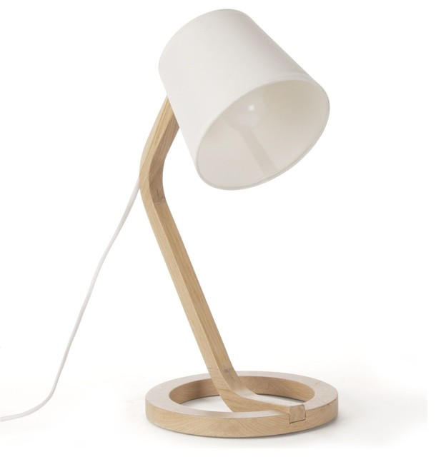 Mokuzai lampe poser design scandinave scandinave for Lampe a poser but