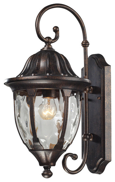 Glendale Outdoor Wall Sconce - Traditional - Outdoor Wall Lights And Sconces - by Chic Art and ...