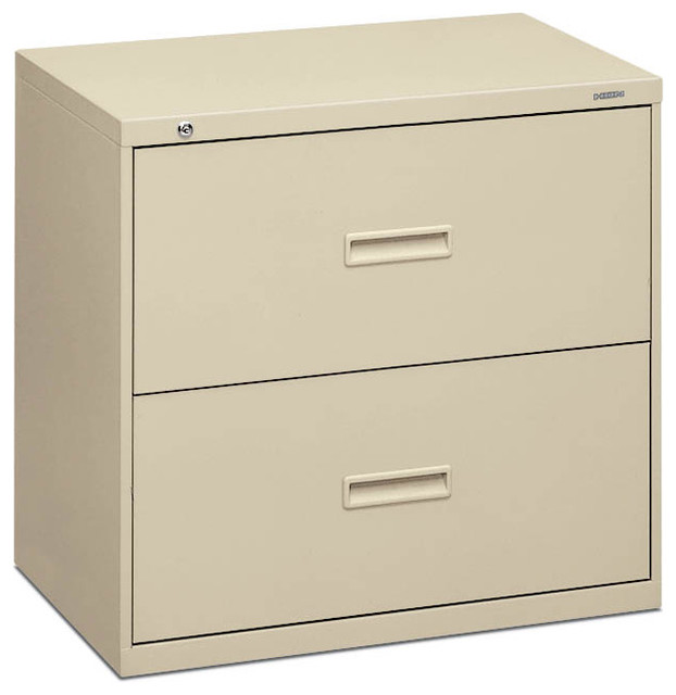basyx by HON Lateral File - 2 Drawer - Contemporary - Filing Cabinets - by Rulers