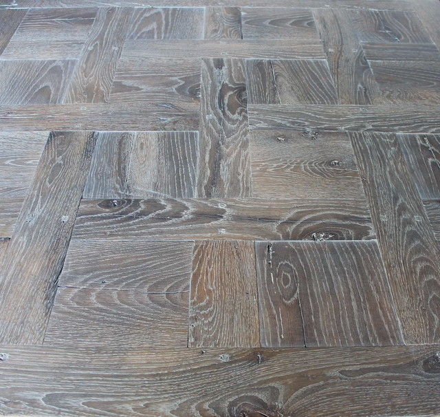 French parquet chantilly fumed and lyed mediterranean for Parquet chantilly