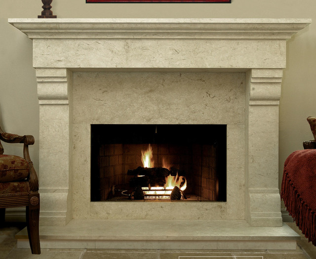 Stone Fireplace Wood Mantels