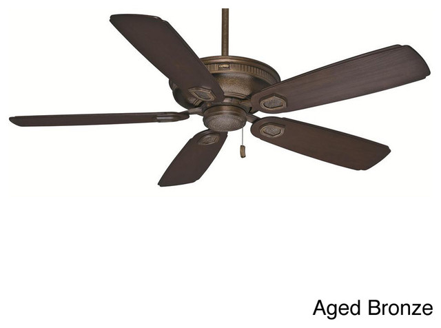 Casablanca 60 Inch Heritage Aged Bronze Fan With