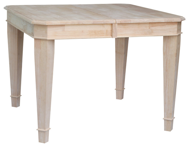 Tuscany butterfly leaf dining table dining tables by international concepts - Round kitchen table with butterfly leaf ...