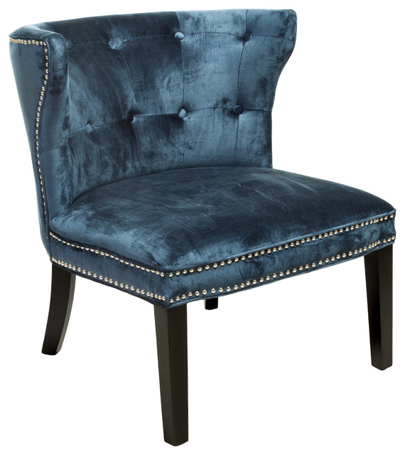accent chair blue contemporary living room chairs by great deal