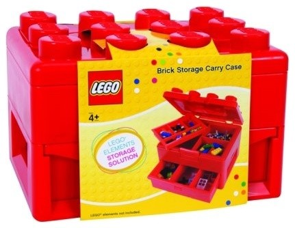 Lego Deluxe Brick And Minifigure Storage Carrying Case