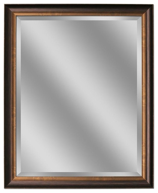 Deco Mirror Mirrors 32 in L x 26 in W Framed Wall Mirror