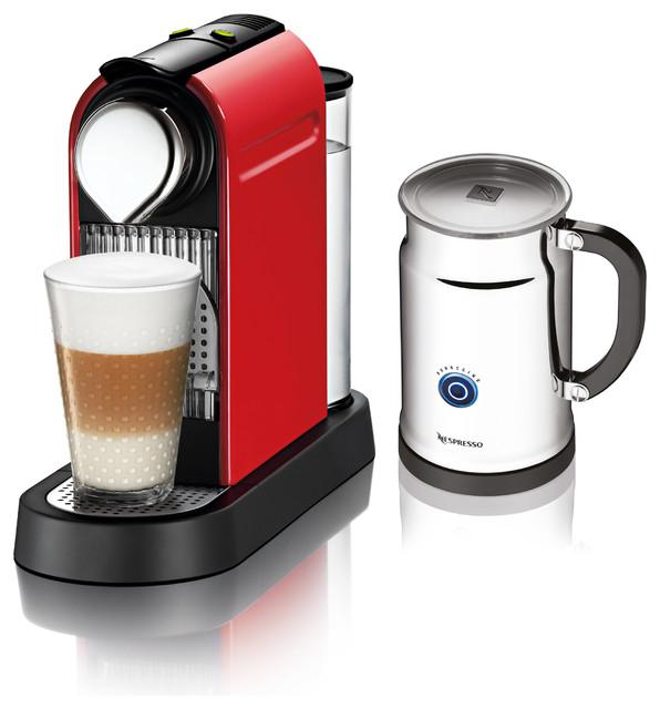 Nespresso Citiz C111 Bundle, Red - Modern - Espresso Machines - by DaSalla's