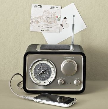 Vintage Radio - Contemporary - Home Electronics - by West Elm