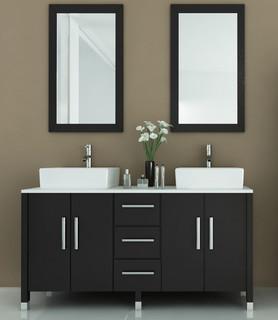 59 Sirius Double Bathroom Vanity Modern Bathroom Vanity Units