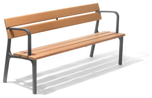 bench bonsit modern gartenb nke other metro von. Black Bedroom Furniture Sets. Home Design Ideas