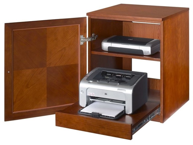 Jesper Printer Cabinet - Real Wood - Contemporary - Storage Cabinets