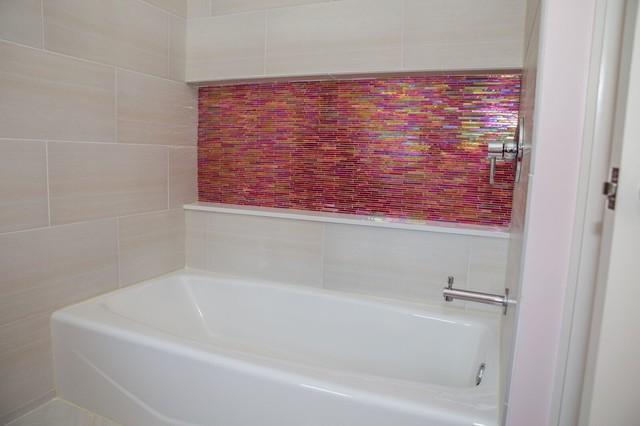 Wood mode girls bath renovation brighton ny for Bathroom renovations brighton