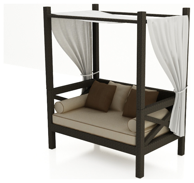 Hampton canopy day bed by forever patio modern outdoor Outdoor daybed with canopy