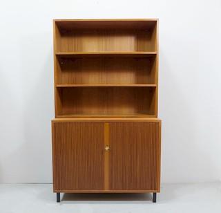 teak kommode von dewe 1960er bauhaus look kommoden. Black Bedroom Furniture Sets. Home Design Ideas