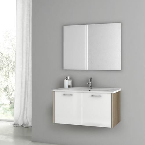 33 inch customizable bathroom vanity set contemporary
