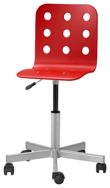 jules junior desk chair red contemporary children s