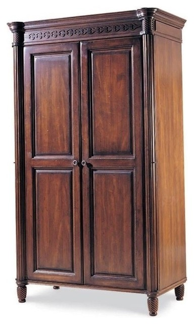 durham furniture mount vernon armoire cunningham traditional armoires and wardrobes by. Black Bedroom Furniture Sets. Home Design Ideas