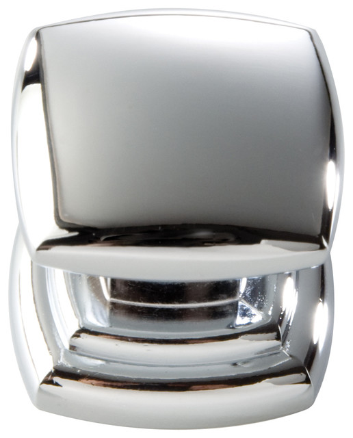 ... Contemporary Chrome Cabinet Knob traditional-cabinet-and-drawer-knobs