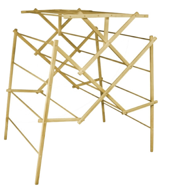 Wooden Clothes Drying Rack - Traditional - Drying Racks - by Robbins Lumber